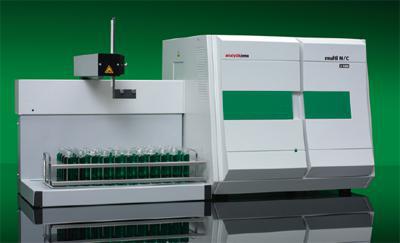 总有机碳/总氮分析仪multi N/C ®3100